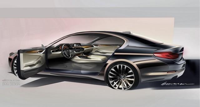 La nouvelle BMW Série 5 Berline. Plus légère, plus dynamique, plus sobre et entièrement interconnectée 372609P90238845highResthenewbmw5series