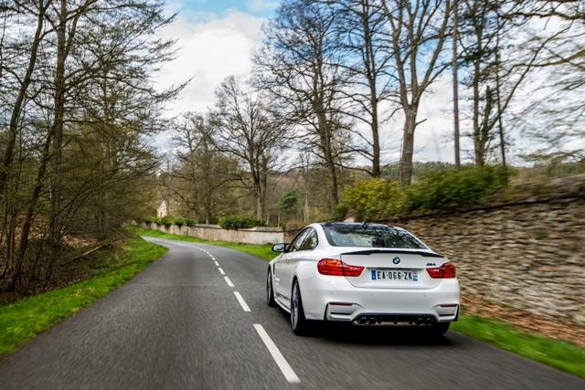 BMW M4 Coupé Tour Auto Edition : une édition française ultra limitée pour célébrer le rallye emblématique. 372633P90215101highResbmwm4coupetourau