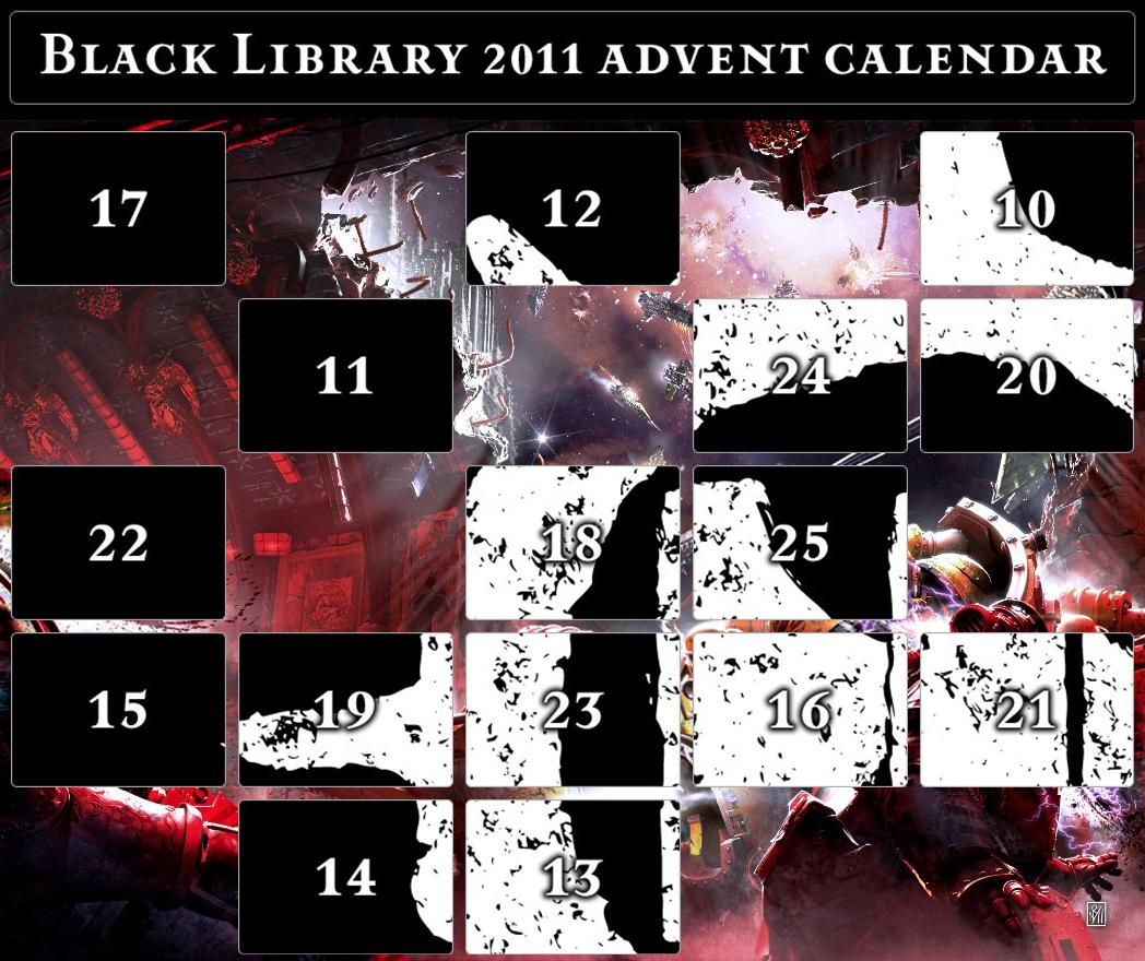 Black Library Advent Calendar 2011 - Page 4 372768adventcalandargeneral