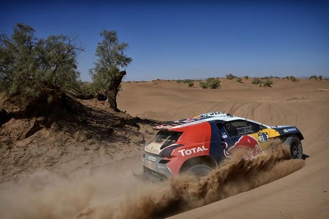 Team Peugeot Total : Rallye du Maroc / ETAPE 2 : Boucle du Drâa 37339105315002038