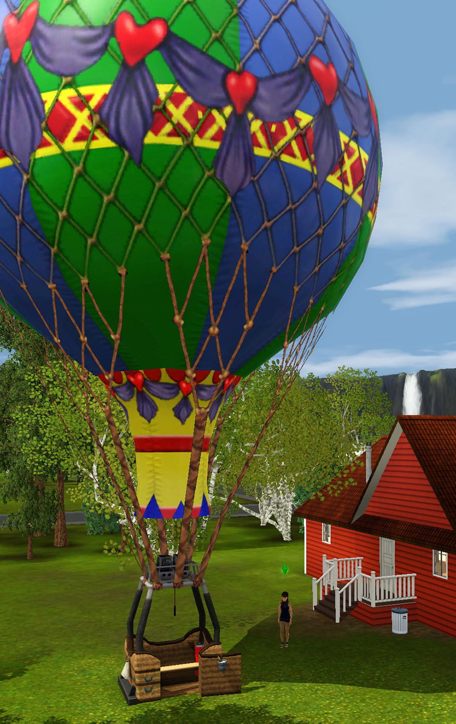 Monde sims : Aurora Skies 374493ballon