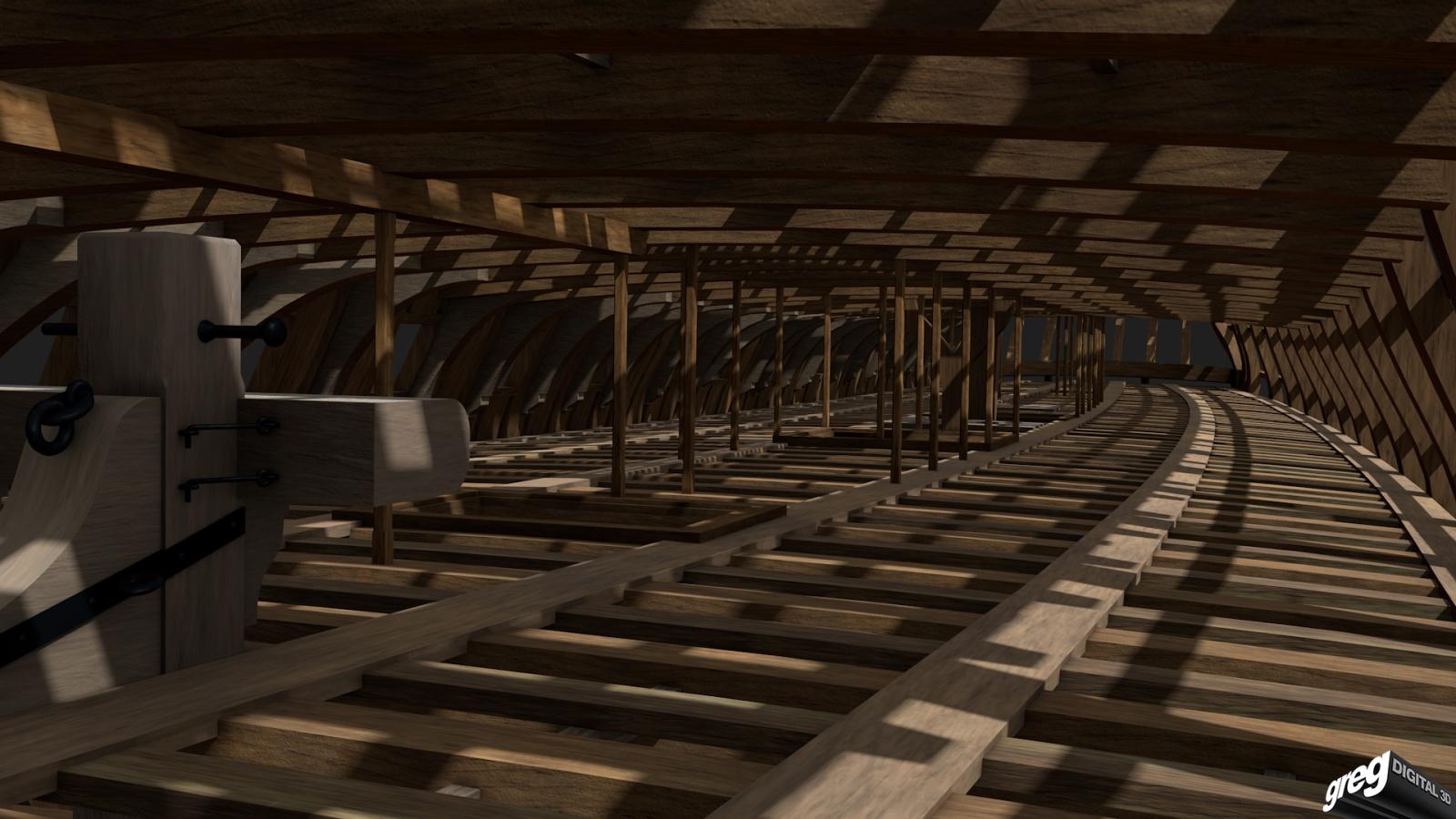 Vaisseau 74 canons Lucide (Création 3D) de Greg_3D - Page 3 374854Squelettecaillebotis4