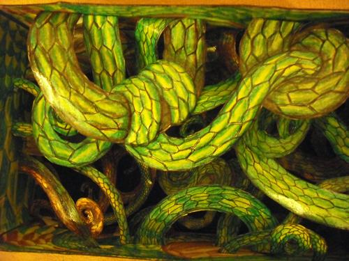Dragons, chimères et créatures arc-en-ciel - Page 5 375809Serpentsbotefini3