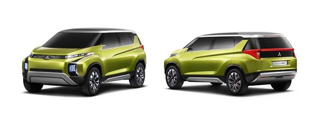 Mitsubishi présente ses trois concepts 376585lineupcar03main