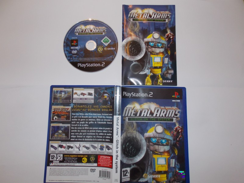 Metal Arms : Glitch in the System 378010Playstation2MetalArms