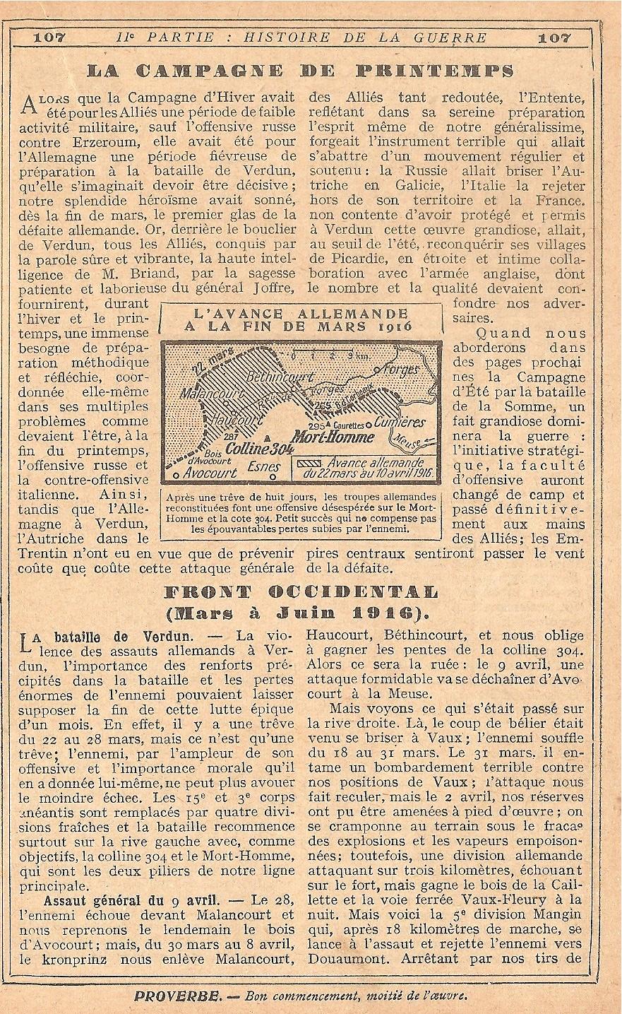 [ Histoires et histoire ] LE CENTENAIRE DE LA GRANDE GUERRE - Page 5 378372Verdun10