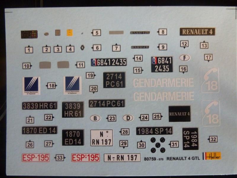 RENAULT 4L GTL 1/24ème Réf 80759  378419P1000502Copier