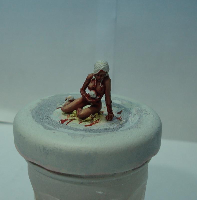 Les réalisations de Pepito (nouveau projet : diorama dans un marécage) - Page 3 378473Victime1