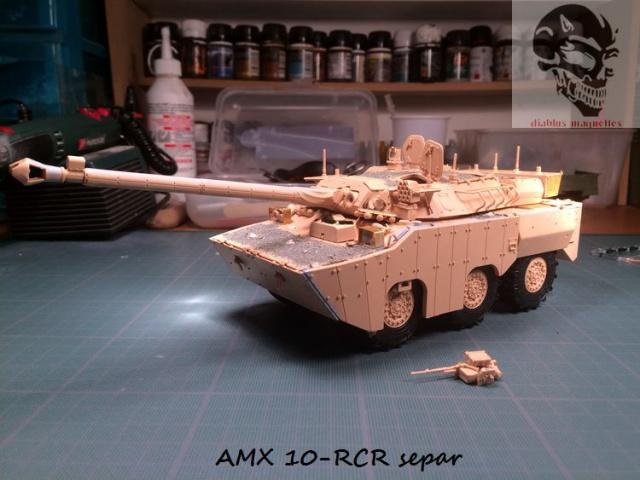 AMX 10 RCR SEPAR maquette Tiger Model 1/35 379306IMG3794