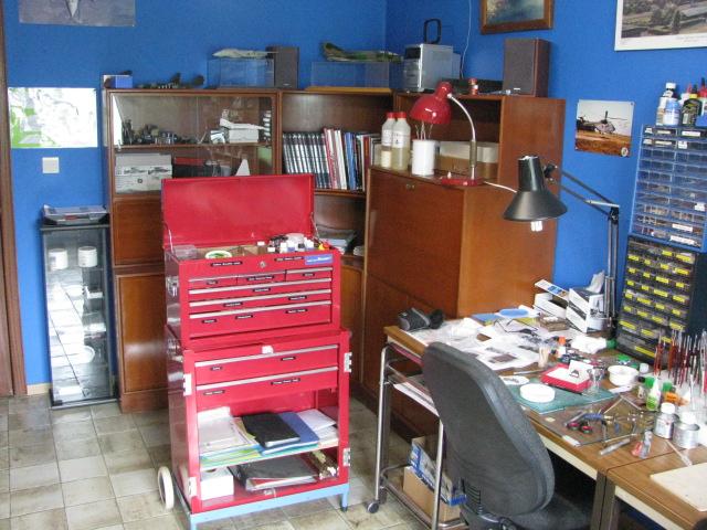 Mon atelier....et ma nouvelle cabine de peinture! 380507IMG9757