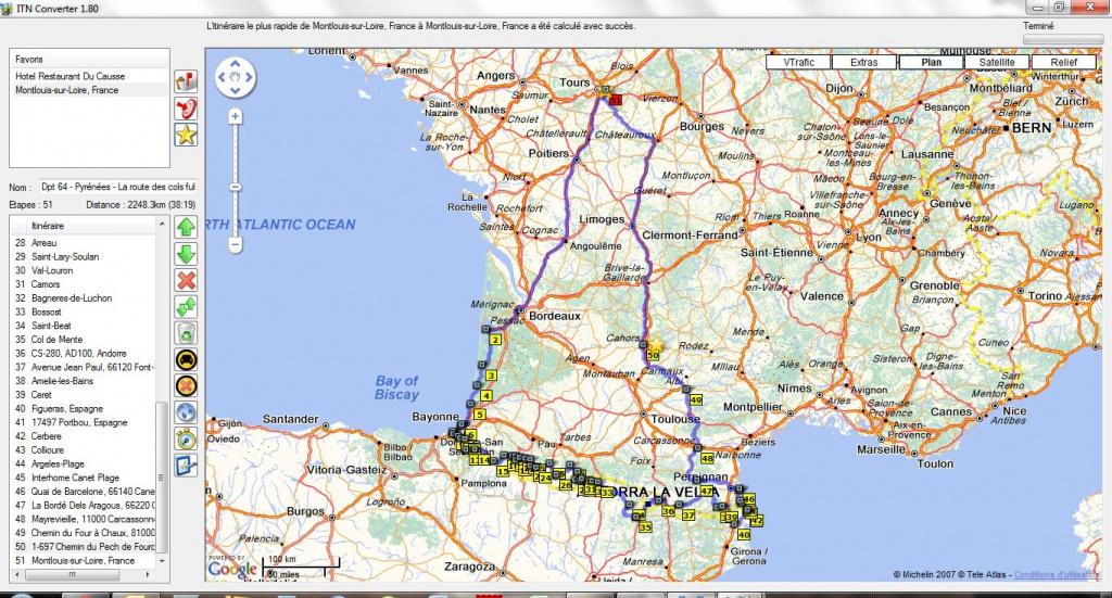 Préparation - LES PYRÉNÉES D'OUEST EN EST-10 jours en Sept 2012 381139Circuitcomplet