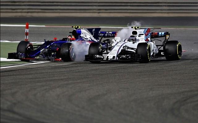 F1 GP de Bahreïn 2017 : victoire Sebastian Vettel 3812252017LanceStrollCarlosSainzJr
