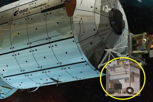 L'horloge atomique PHARAO à bord de l'ISS en 2016 381272pharaocolumbuscopie