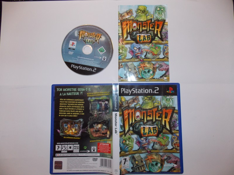 Monster lab 383013Playstation2MonsterLab