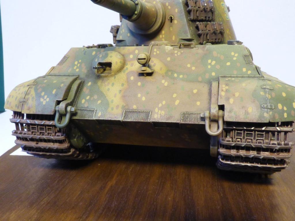 tiger - King Tiger Sd.Kfz.182 Henschel Turret Takom 1/35 383210P1060464Copier