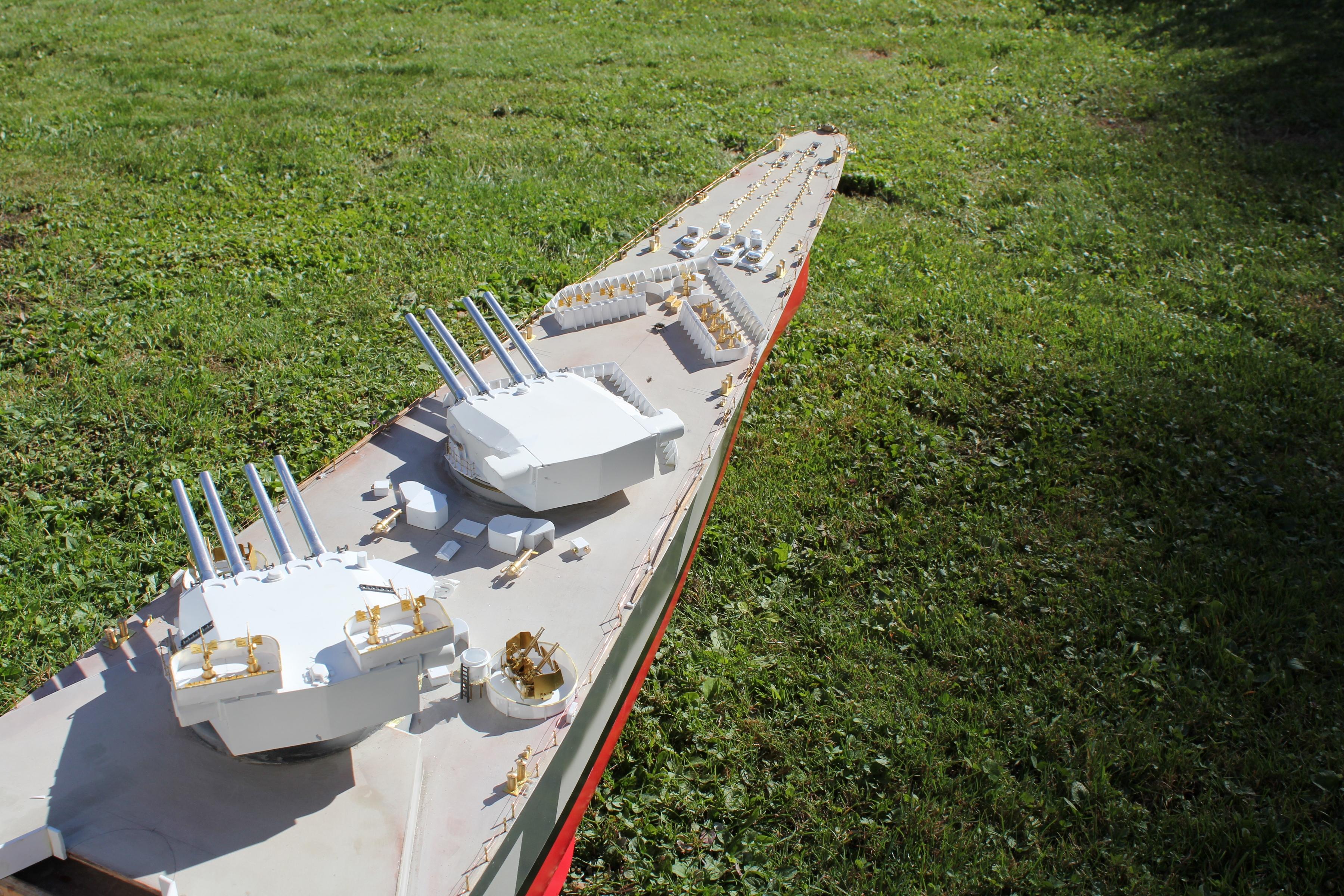 Cuirassé Richelieu 1943 (plans Polonais et Sarnet + Dumas 1/100°) 383616IMG05943600x2400