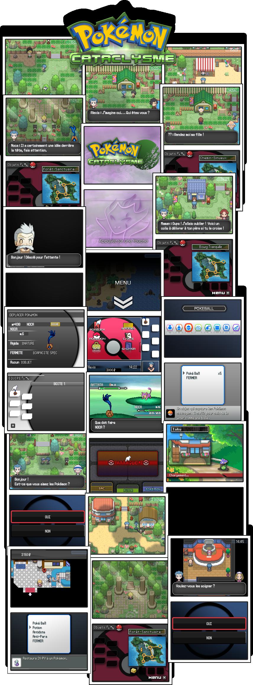 Pokémon Cataclysme [Démo V.1 Disponible ! ] 384925planche