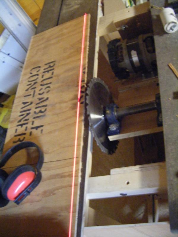 Fabrication d'une scie sur table - Page 2 385149DSCF8698