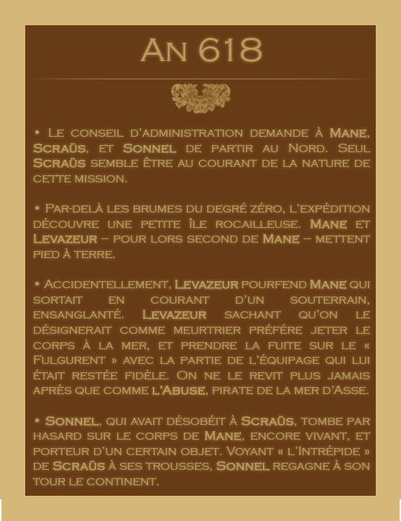 Chronologie des Odyssées de la Compagnie des Zindes 38540907618