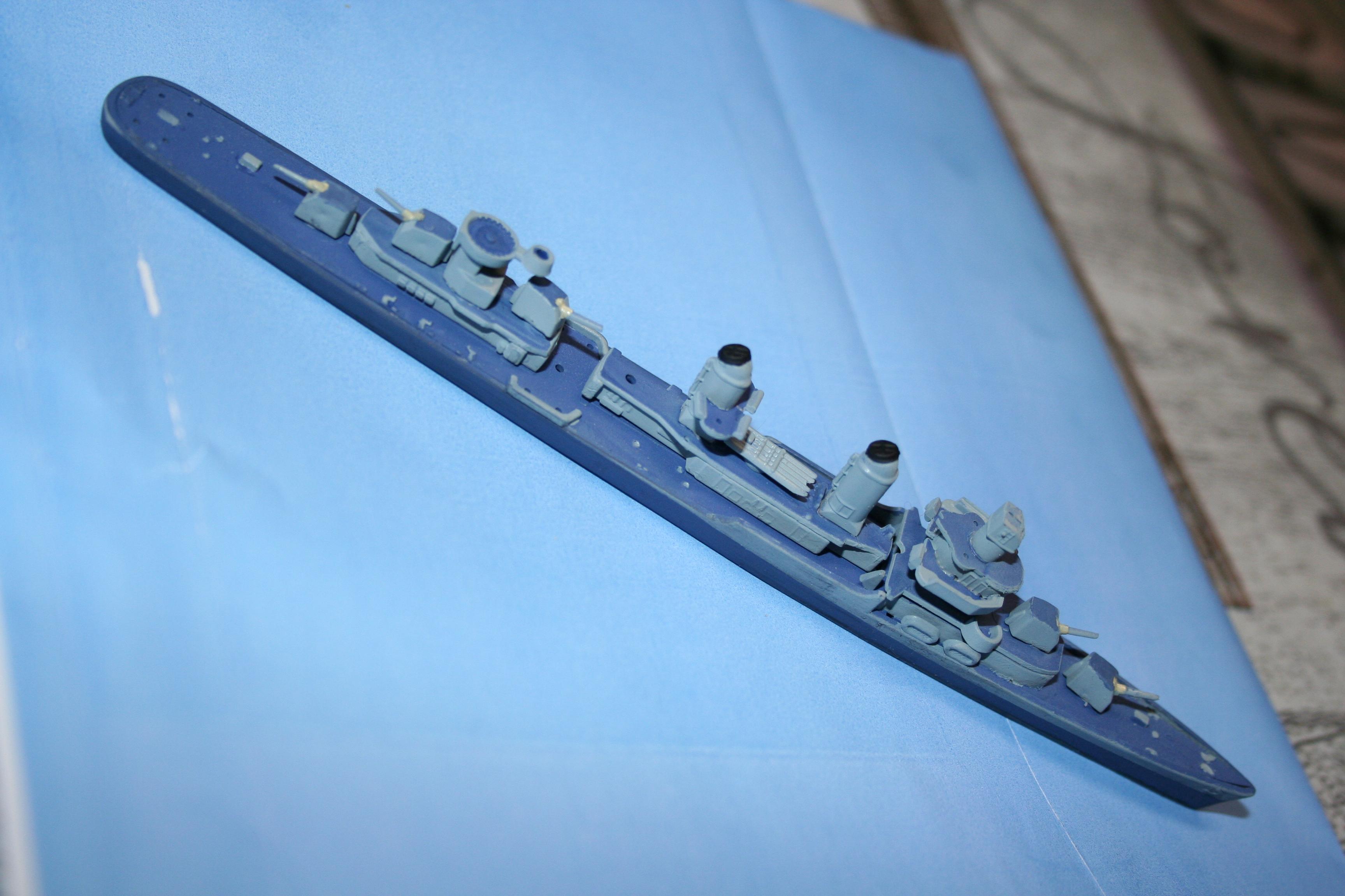 Destroyer USS Fletcher (Revell 1/700°) par Alain88440 386009IMG3646
