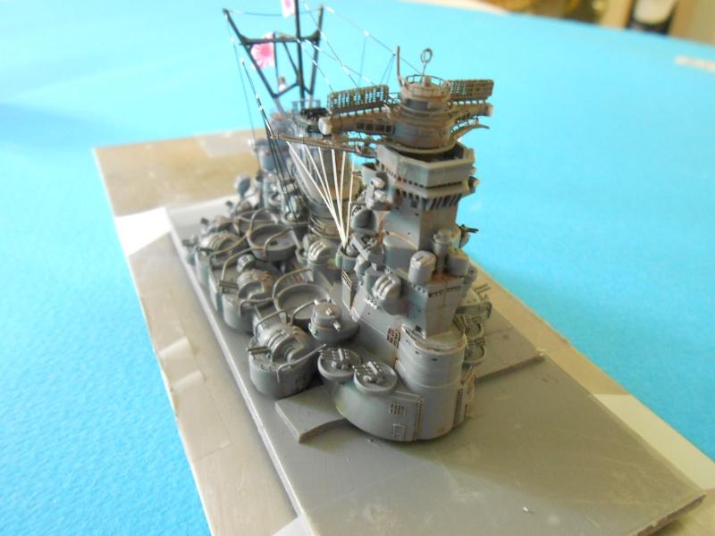 Yamato 1/700 fuji, PE,Pont en bois et babioles - Page 3 387901DSCN6097