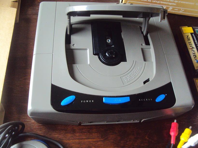 [Vds] Console sega saturn V1 japan HST-0001 en boite + 3 jeux 388728DSC04454