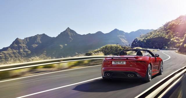 Lancement De La Nouvelle Jaguar F-TYPE Dotée De La Technologie GOPRO En Première Mondiale 388961jaguarftype18mysvrconvertiblelocationexterior10011701