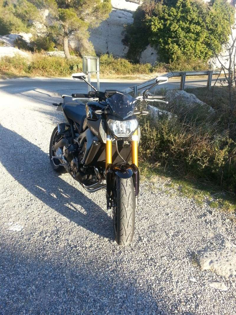 Photos de toutes les Yamaha MT-09 du forum ! :) 390389Jfb30