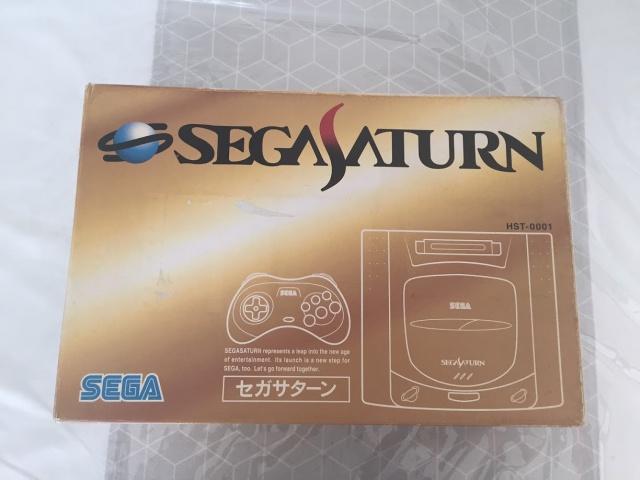 [VENDUE Sega Saturn Jap LongBox + Action Replay 4 en 1 Pseudo Saturn 390710IMG1703
