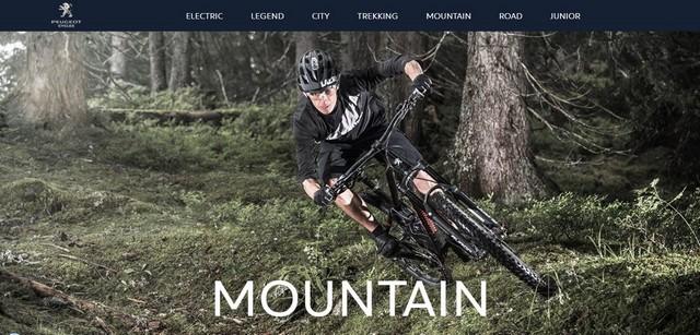 PEUGEOT Cycles lance son nouveau site web 391841UniversMountain