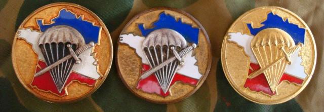 LES INSIGNES DU BATAILLON DE CHOC 1943/1963. 392150Courtois5863