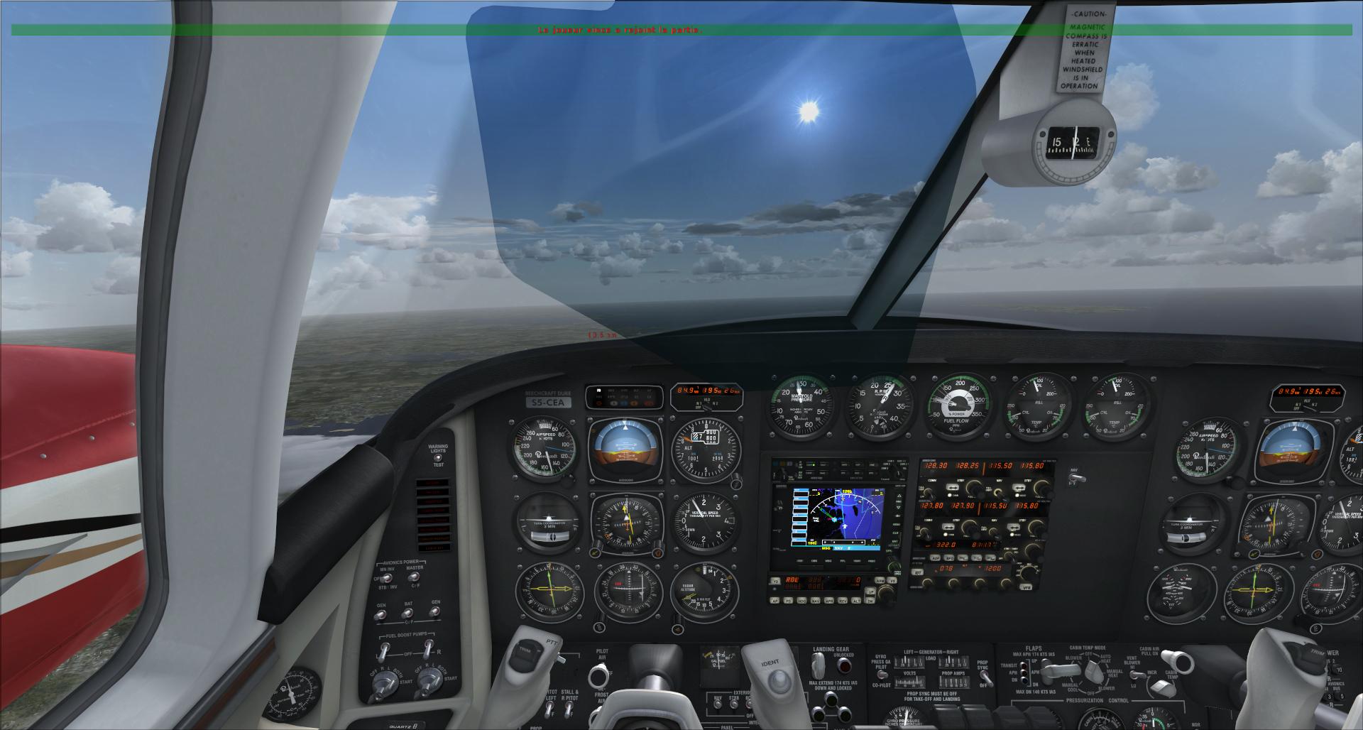 Rapport du vol: Ouessant (LFEC) à Ile de Re (LFBH) 39384520141142132549