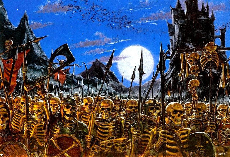 [Warhammer Fantasy Battle] Images diverses 395026armyofskeletons
