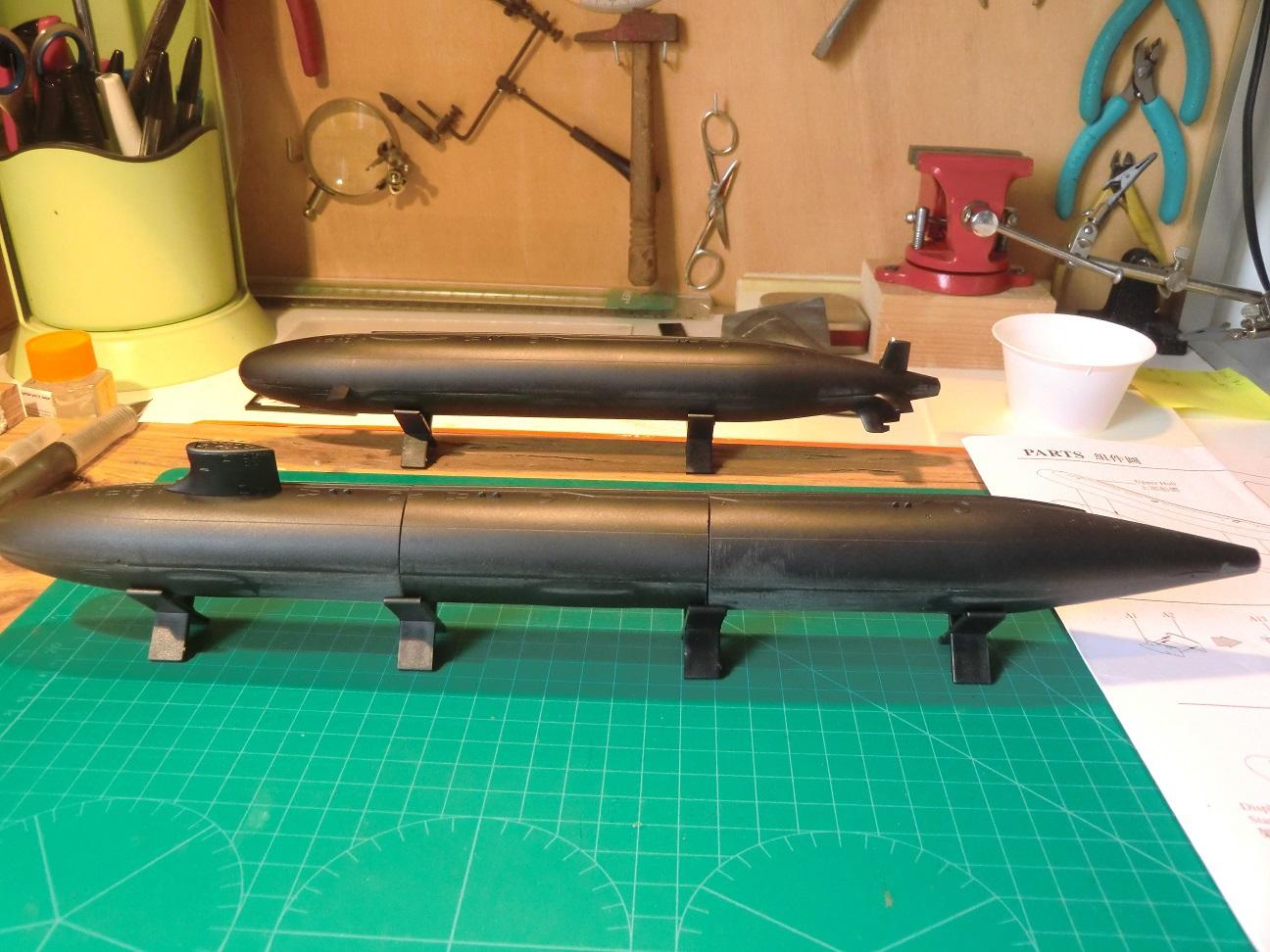SSN 21 ET SSN 23 Seawolf Class 1/350 395207CIMG7560