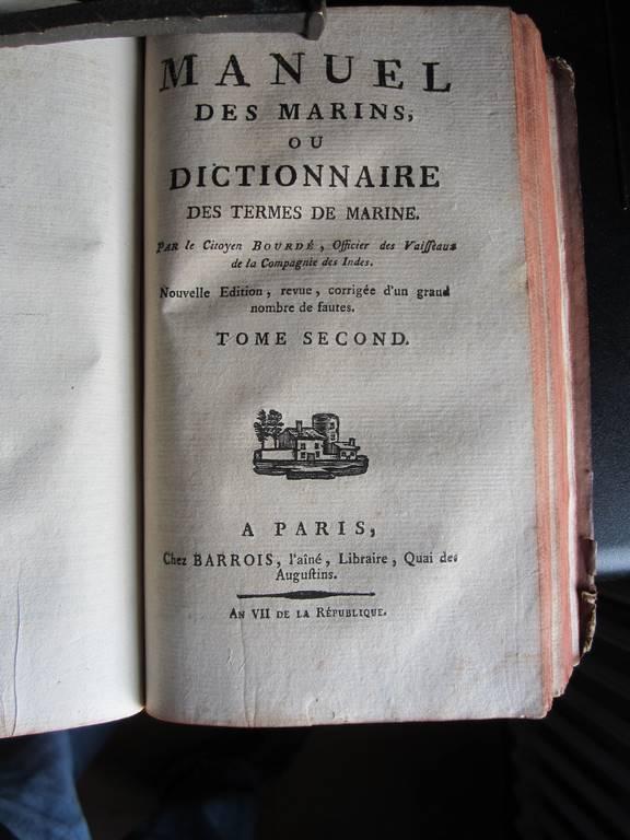 """""""Officiers-majors"""" sous Louis XVI : les officiers de l'état-major du navire 396445IMG2069Copier"""