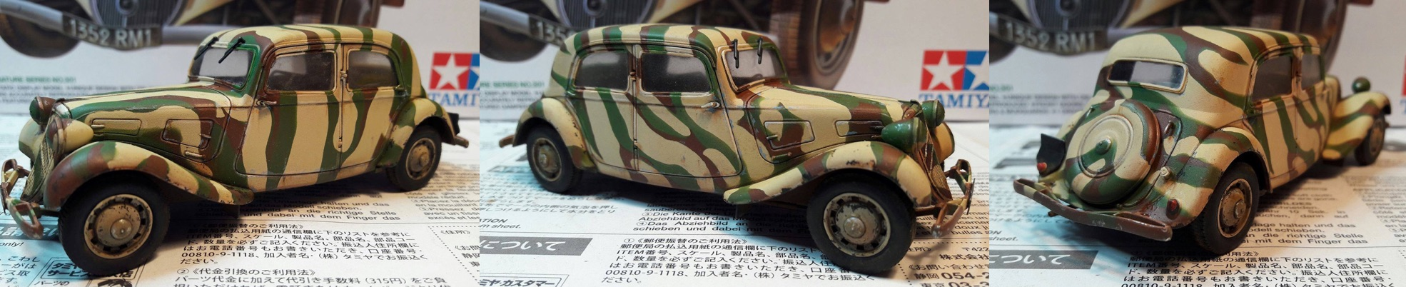 Citroën traction 11CV 1/35ème 399346CitroenWheels