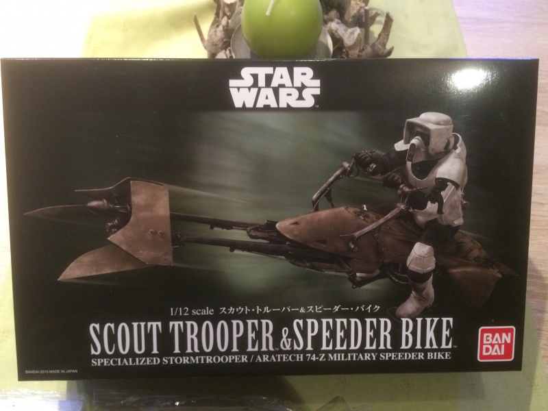 SCOUT TROOPER et SPEEDER BIKE 399433IMG0259