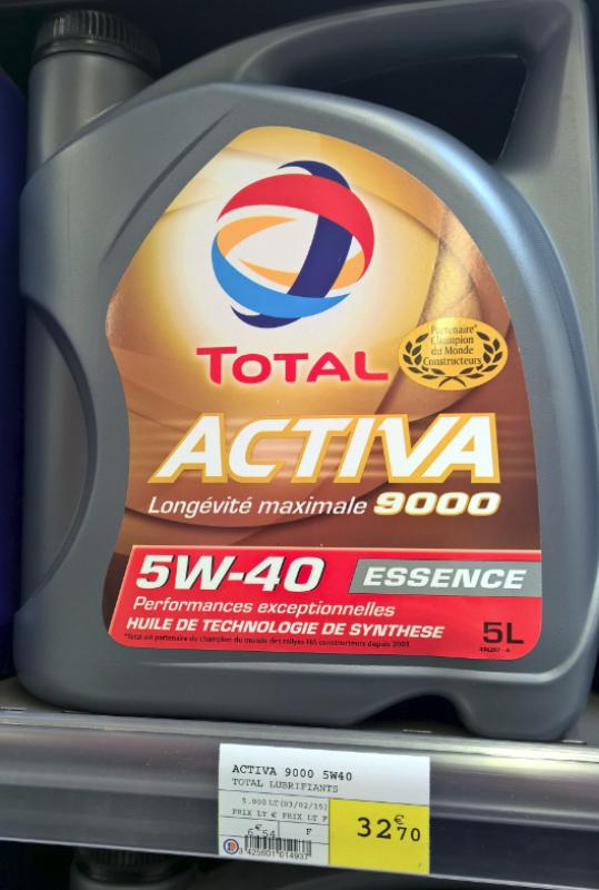 [ BMW E39 535i V8 M62 an 1997 ] Message ODB : Stop Pression d'huile (résolu) 400976Total5W40