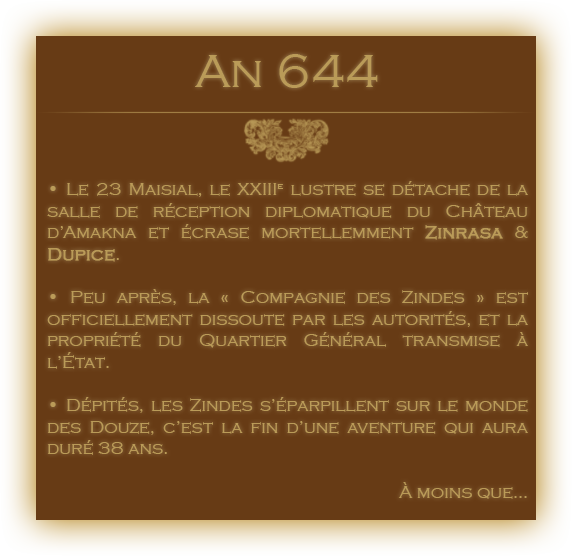 Chronologie des Odyssées de la Compagnie des Zindes 40140123644