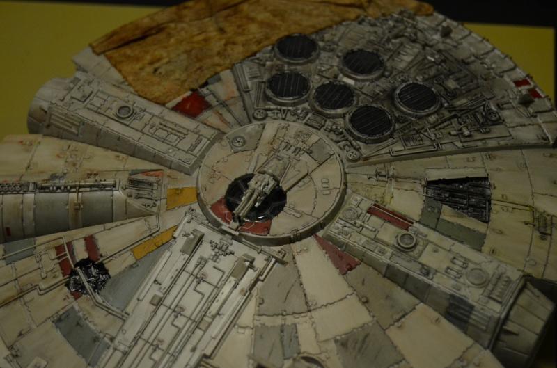 millenium falcon de bandai 402185DSC0011