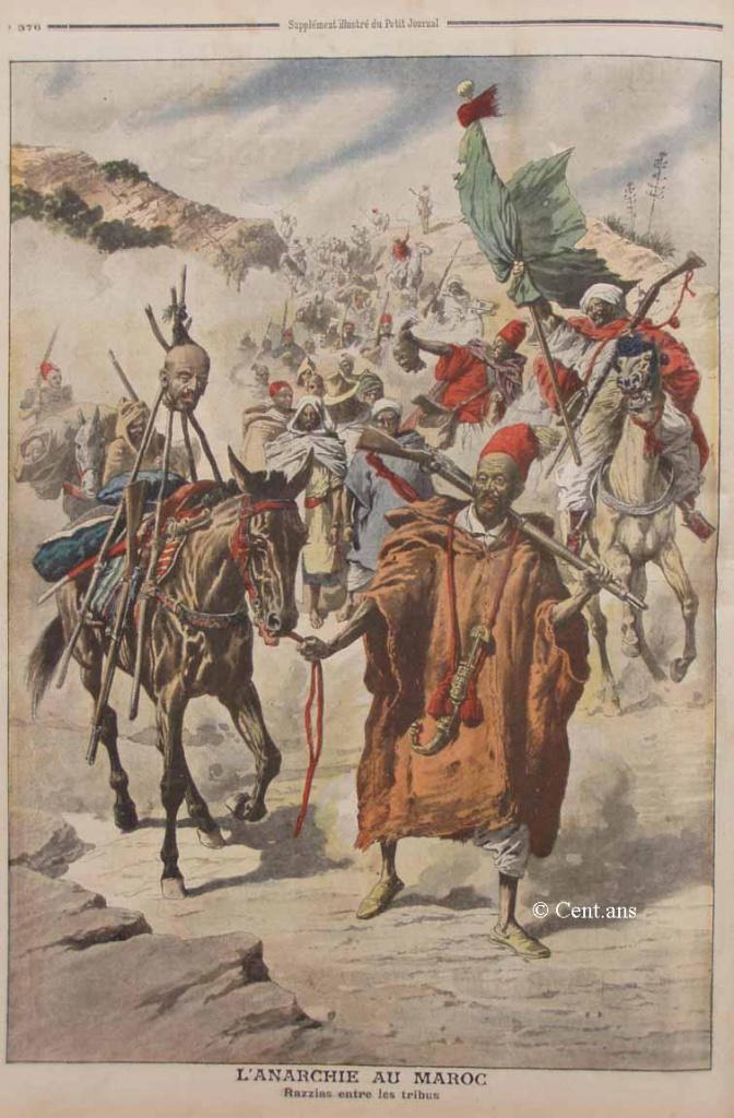 صفحات من تاريخ المغرب الحديث من خلال Le Petit journal illustré - صفحة 3 402874pj88824111907b
