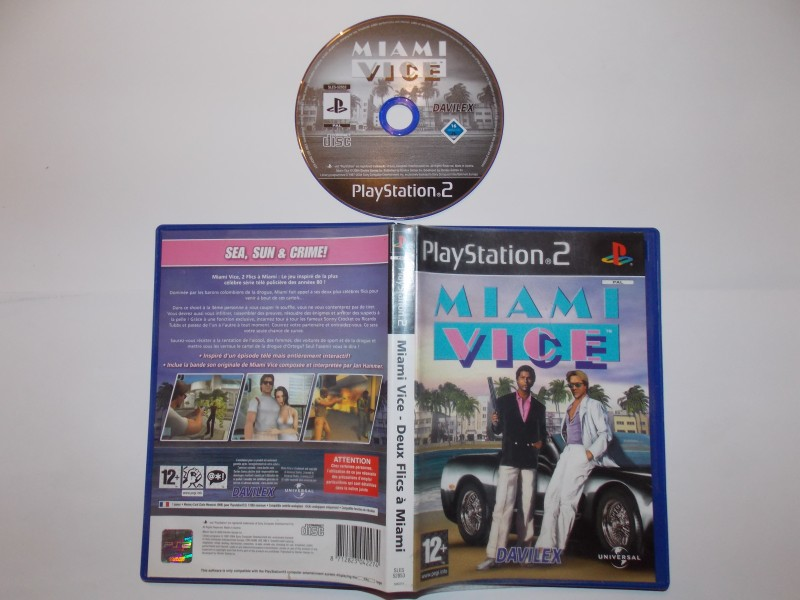 Miami Vice - Deux Flics à Miami 403655Playstation2MiamiVice