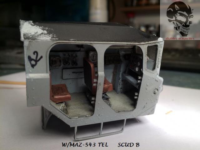 W/MAZ -543 TEL  SCUDB  maquette dragon 1/35 404011IMG4300