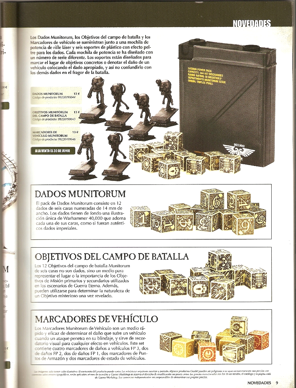 Warhammer 40K V6 - Lancement des hostilités : le 23-VI-12 ! - Page 5 404155W40KV6Rulebook3