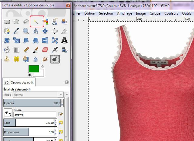 [Débutant] Créez vos vêtements - Partie III - The Gimp 404459photo1