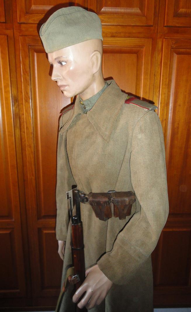 Armée rouge - Breslau et Torgau 1945 - tenue de combat 404772DSC02471