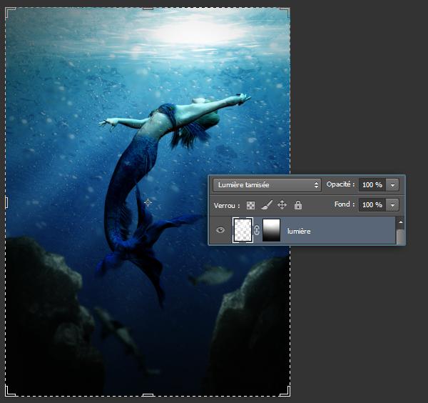[Photoshop] Créer un décor sous-marin 40931314q