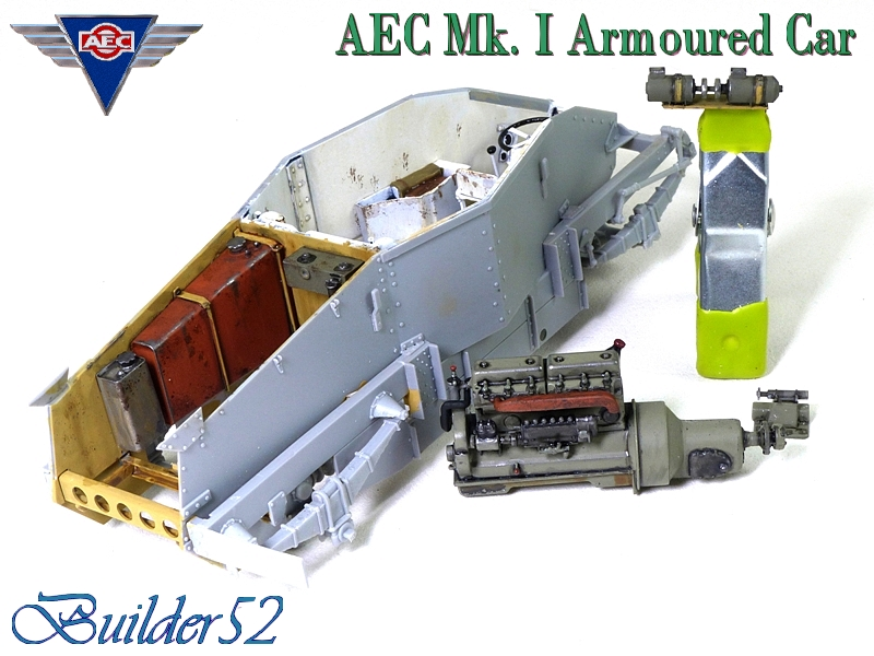 AEC Mk.I Armoured Car - Lybie 1942 - Miniart 1/35 - Page 2 410066P1050103