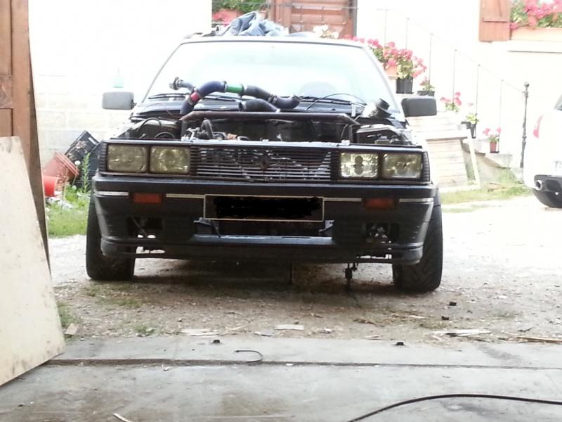 Mimich et sa R9 Turbo (du moins ce qu'il en reste) 41135520120819195804