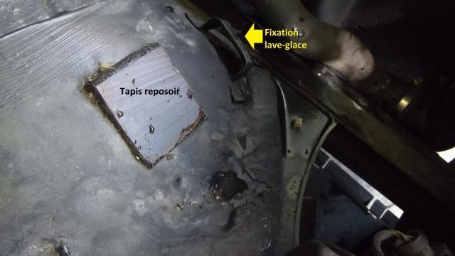 [BMW E36] Réparation du lave-glace et réglage des gicleurs 41506109Fixationdulaveglace